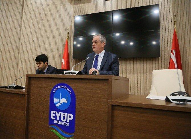 Eyüp Belediyesi Yeni Yılın İlk Meclis Toplantısını Yeni Binasında Yaptı