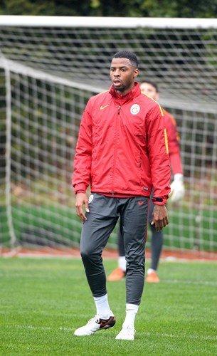 Galatasaray, ikinci yarı hazırlıklarını sürdürdü