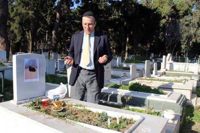 Kedisini, Vasiyet Üzerine Kayınpederinin Mezarına Gömdü