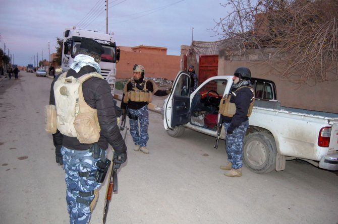 Kerkük'te huzur operasyonu: 65 kişi gözaltına alındı