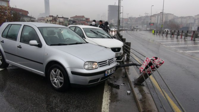 Yoğun yağış kazalara neden oldu