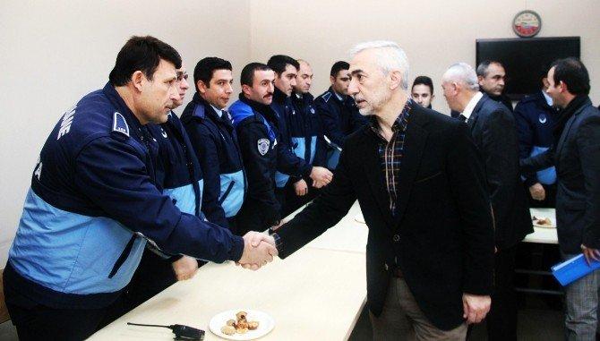Başkan Fazlı Kılıç, Belediye Bünyesindeki Müdürlükleri Ziyaret Etti