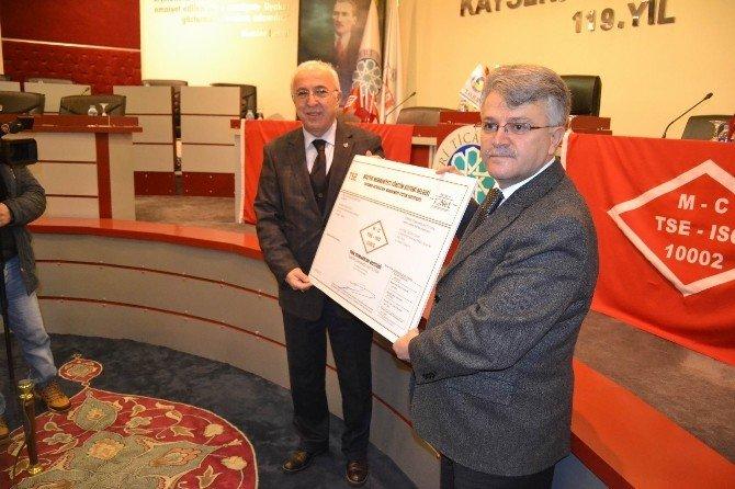KTO, ISO-27001 Belgesi Alan İlk Ve TEK Ticaret Odası Oldu