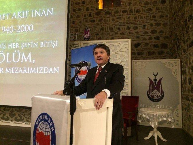 AK Partili Tanrıverdi İnan'la İlgili Anılarını Paylaştı