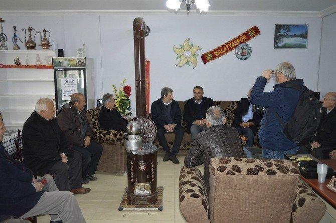 Milletvekili Yaşar'dan Hekimhan Ve Kuluncak'a Ziyaret