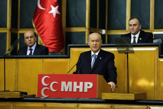 Bahçeli: Terör kanlı mührünü vurmuşsa bunun vebali AKP'nin sırtındadır