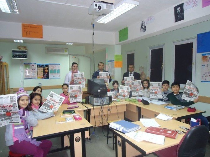 Öğrenciler Gazetelerinin 4. Sayılarını Çıkardı