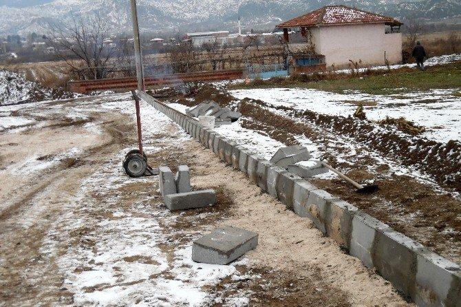 Osmancık'ta Parke Taşı Çalışmaları