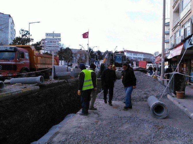 Seydişehir'de Kanalizasyon Hatları Tamamlanıyor