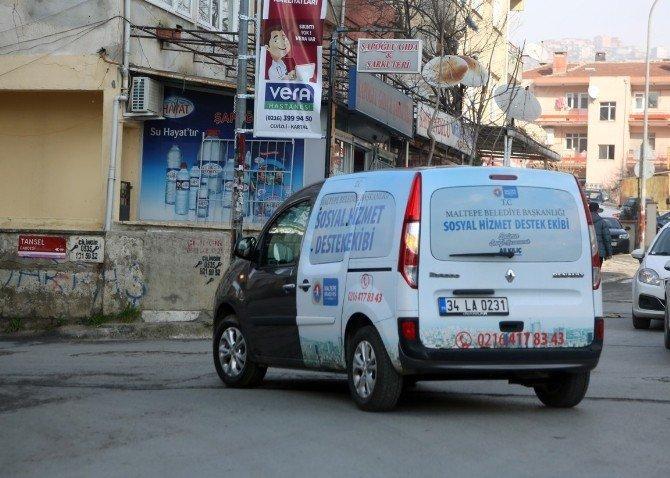 Maltepe Belediyesi İhtiyaç Sahiplerine Yardım Elini Uzattı