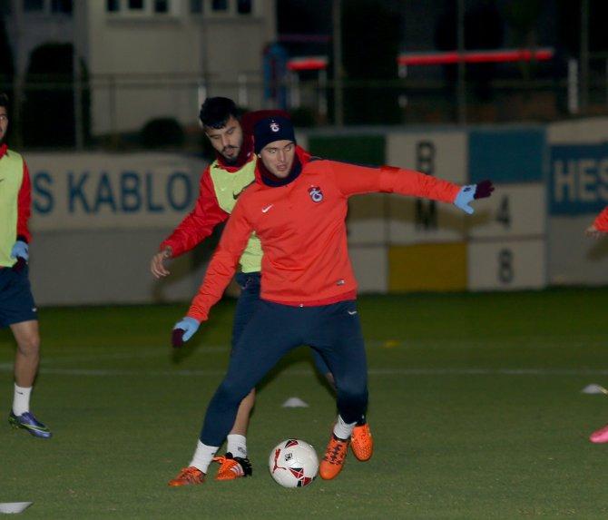 Trabzonspor'da Başkan Usta da antrenmanı izledi