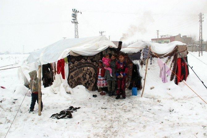 Suriyeli Bebek Soğuktan Donarak Öldü