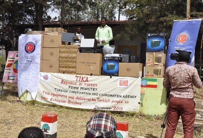 Etiyopya'da Bedessa Preparatory School'a Laboratuvar Ve Bilgisayar Sınıfı Kuruldu