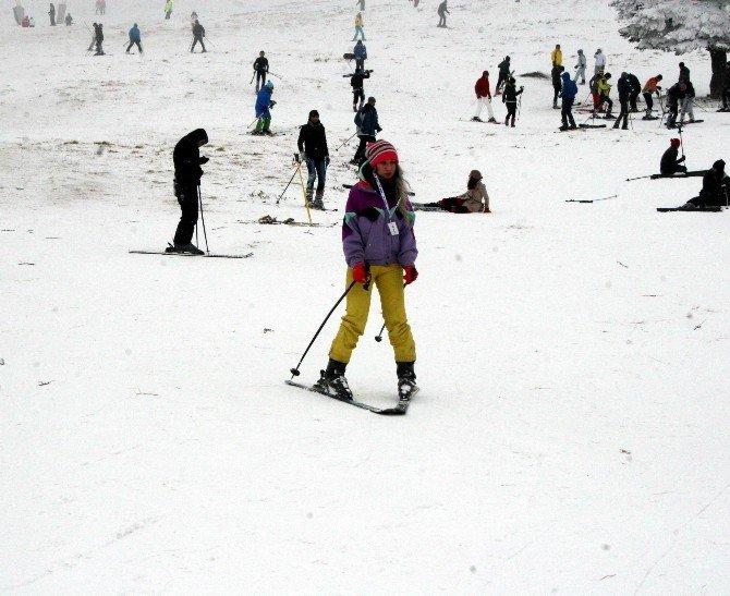 Uludağ'da Kar Kalınlığı 75 Santimetre