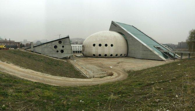 Cumhurbaşkanlığı konser salonu inşaatı, 18 yıldır tamamlanamadı