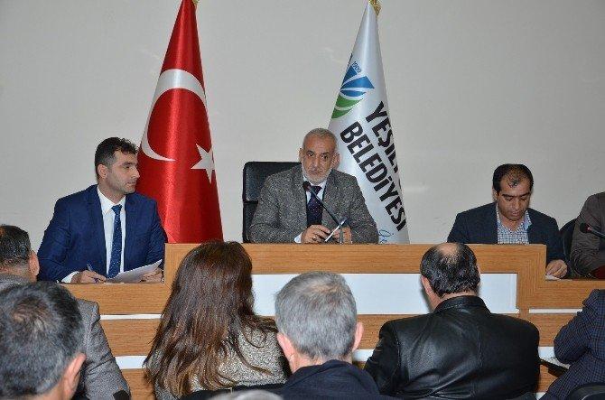 Yeşilyurt Belediye Meclisi Yılın İlk Toplantısını Yaptı
