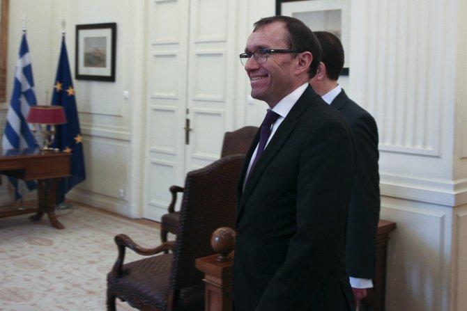 BM Kıbrıs Özel Danışmanı Eide Atina'da