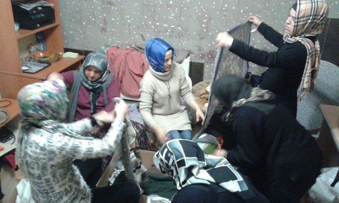AK Parti'den Bayır Bucak Türkmenleri'ne Yardım
