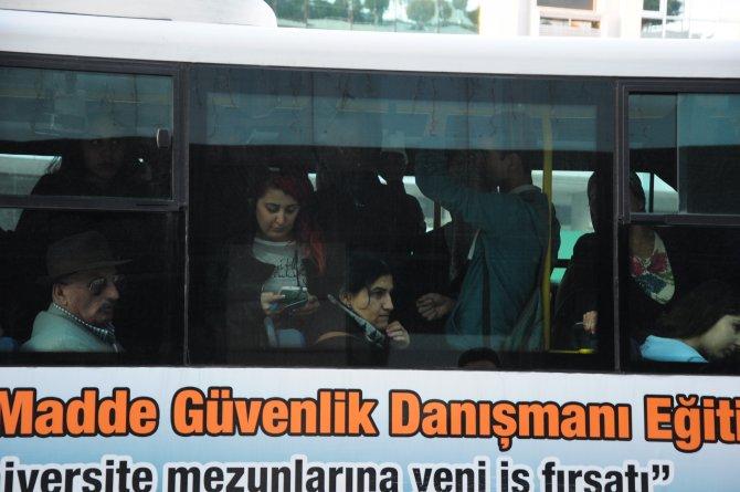 Antalya'da toplu ulaşıma yüzde 22 zam