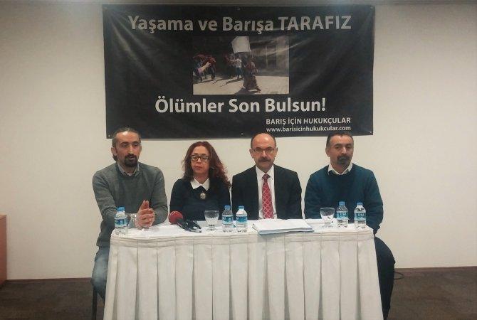 Bin 111 hukukçudan sokağa çıkma yasaklarının bitmesi için imza kampanyası