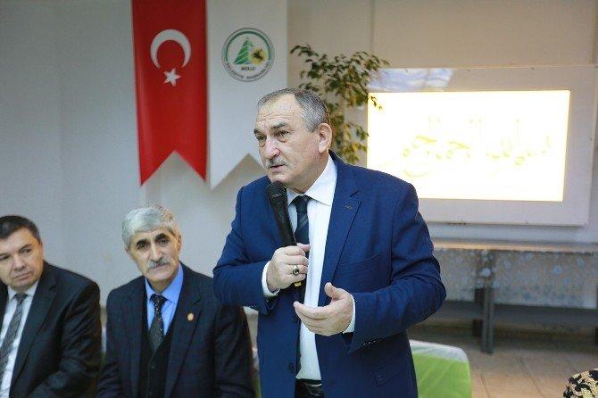 Bolu Belediye Başkanı Yılmaz Muhtarlarla Bir Araya Geldi