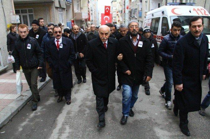 Şehit Uzman Çavuşun Cenazesi Memleketi Ordu'ya Gönderildi
