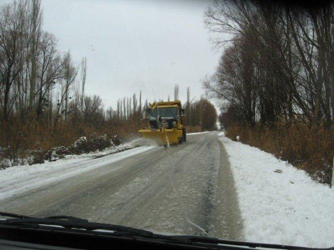 Burdur'da 81 Köy Yolunda, Karla Mücadele