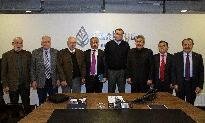 İmamlardan Çankaya Belediye Başkanı Taşdelen'e Teşekkür Ziyareti