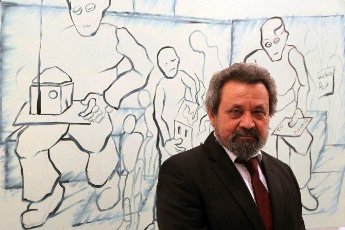 'Göçün en iyi ressamı' Çankaya'da sergi açtı