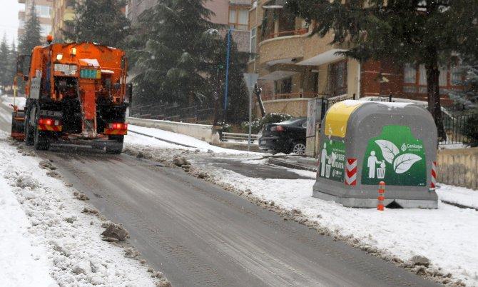 Çankaya'da Avrupa kalitesinde çöp konteyneri 684'e ulaştı