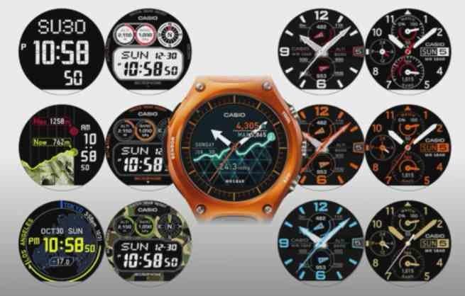 Casio'dan 30 gün pil ömrü sunan akıllı saat