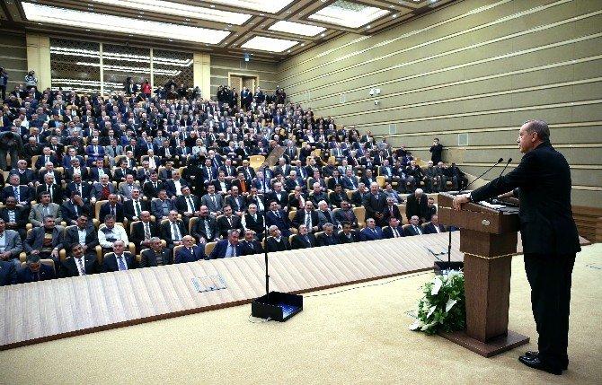 Cumhurbaşkanı Erdoğan'dan Yeni Anayasa Ve Başkanlık Sistemine İlişkin Açıklama