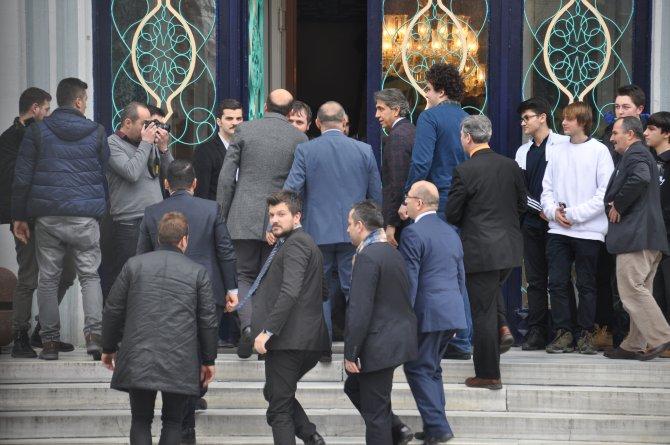 Bilal Erdoğan, Çapa Fen Lisesi'ni ziyaret etti