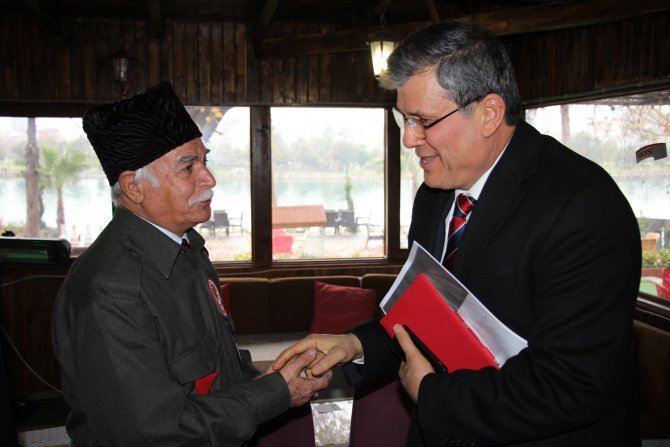CHP İl Başkanı Barut, Kuvayı Milliye Mücahitler Derneği'ni ziyaret etti