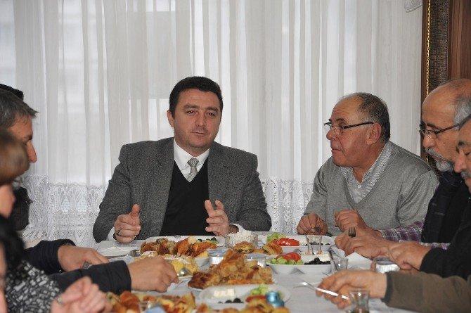 Başkan Bakıcı Sivrihisarlılar Derneği'nin Davetine Katıldı