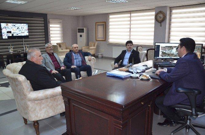Göynücekliler Derneği Yeni Yönetimi Başkan Bakıcı'yı Ziyaret Etti