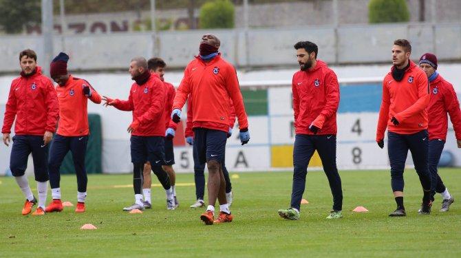 Trabzonspor, ikinci yarıya hazırlanıyor