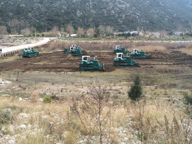 Antalya'da DSİ 'Den Taşkın Riskini Azaltma Çalışmaları