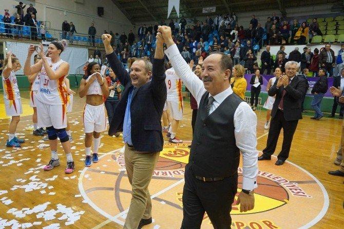 Edirne Belediyesi Edirnespor Kadın Basketbol Takımı Eurocup'ta Mücadele Edecek