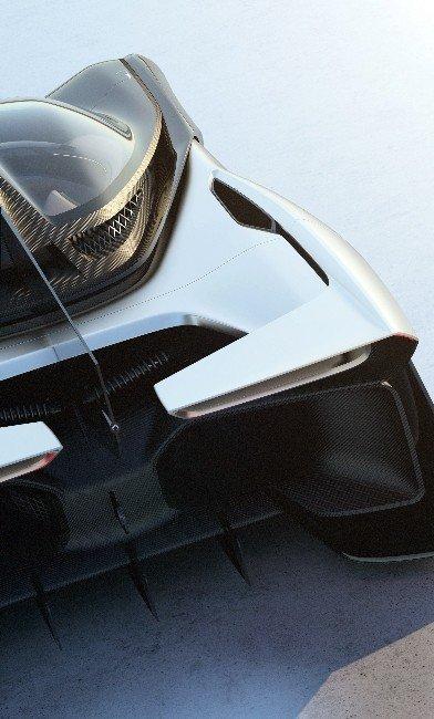 1000 Beygir Gücündeki Elektrikli Otomobilin Tanıtımı Yapıldı