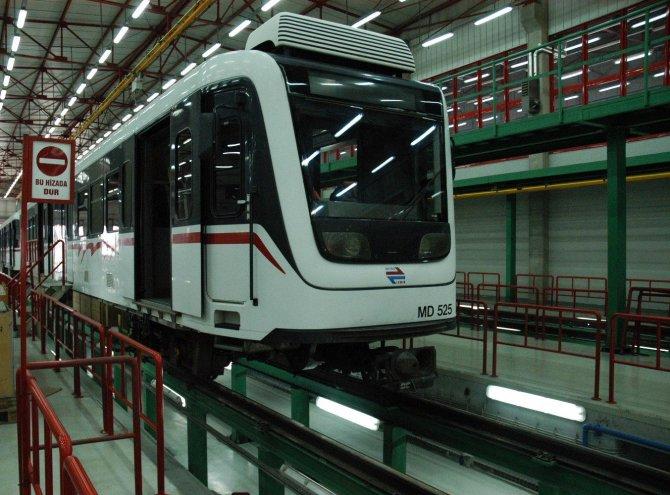 Metro vagonları için iki katlı yer altı otoparkı yapılacak