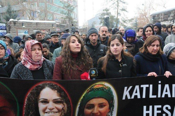 Silopi'de Üç Kadının Ölmesi Protesto Edildi