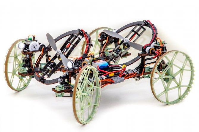 Düz duvara tırmanabilen robot geliştirdiler