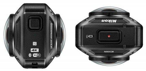 İşte 360 derece çekim yapabilen aksiyon kamerası