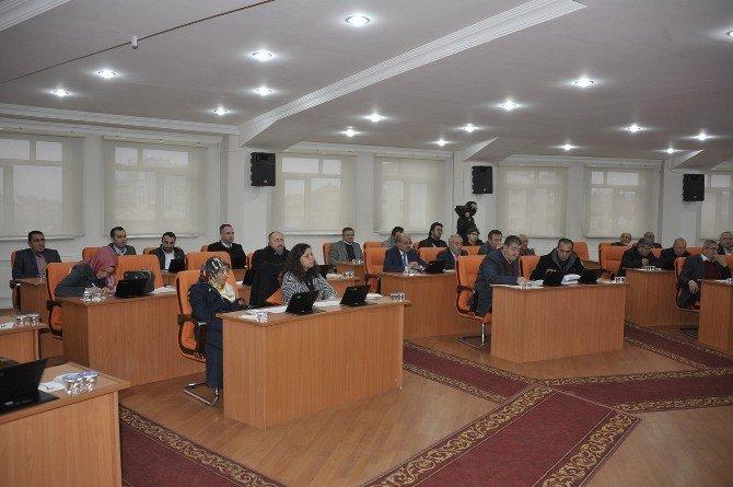 Karaman'da 2016 Yılının İlk Belediye Meclisi Toplandı