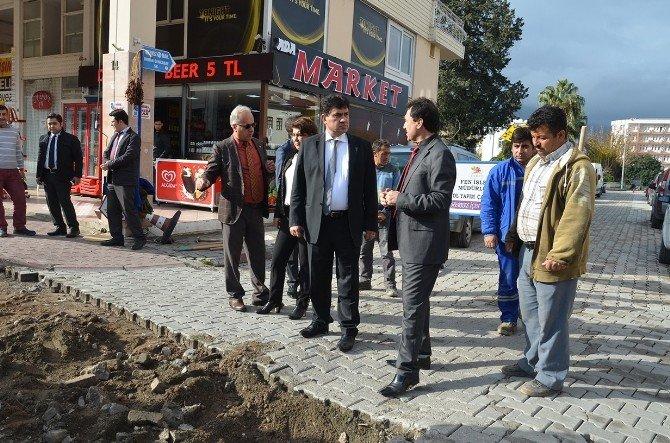 Başkan Gül, Yol Yapım Çalışmalarını İnceledi