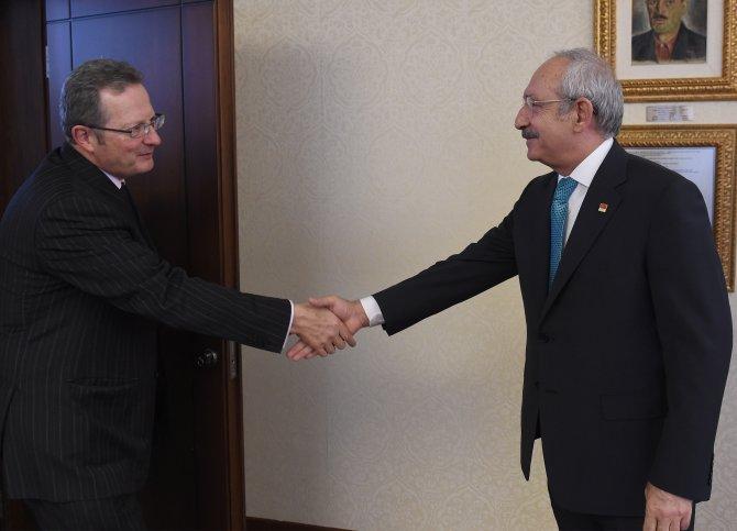 Kılıçdaroğlu, Belçika Büyükelçisi ile görüştü