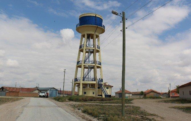 Konya'nın İlçelerindeki Su Depolarına Bakım Yapıldı