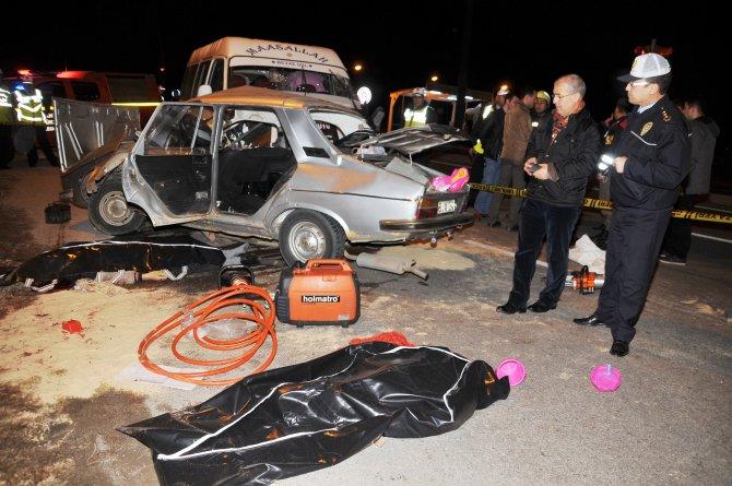 Manisa'da kazada ölü sayısı 4'e yükseldi