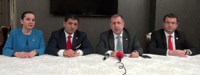 MHP Genel Başkan Yardımcısı Özdağ: Kıbrıs'tan büyük endişelerle dönüyoruz